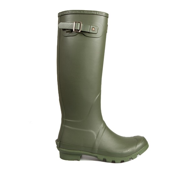 Barbour Lifestyle Womens Green Bede Wellingtons