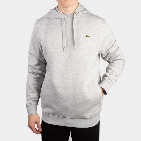 Lacoste Mens Grey Hooded Sweatshirt
