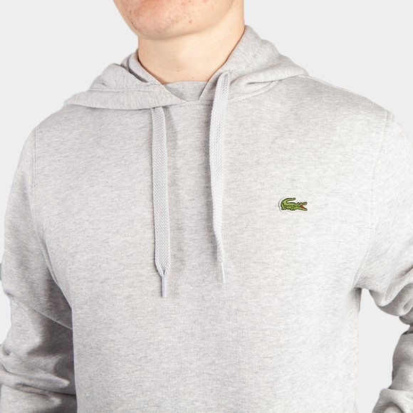 Lacoste Mens Grey Hooded Sweatshirt main image