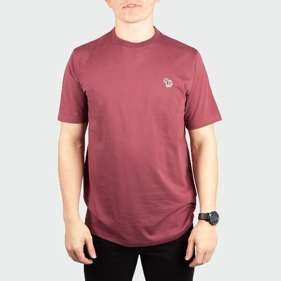 PS Paul Smith Mens Red Zebra T-Shirt