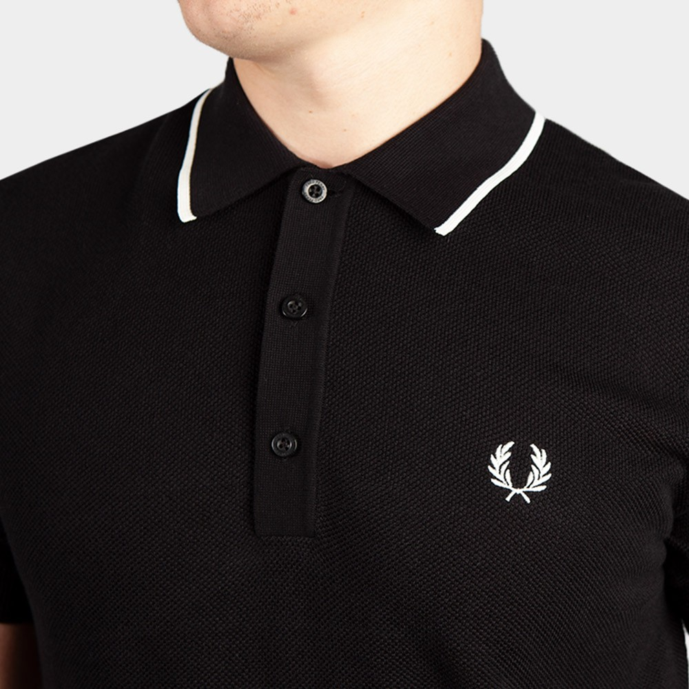 Tipped Knitted Polo Shirt main image