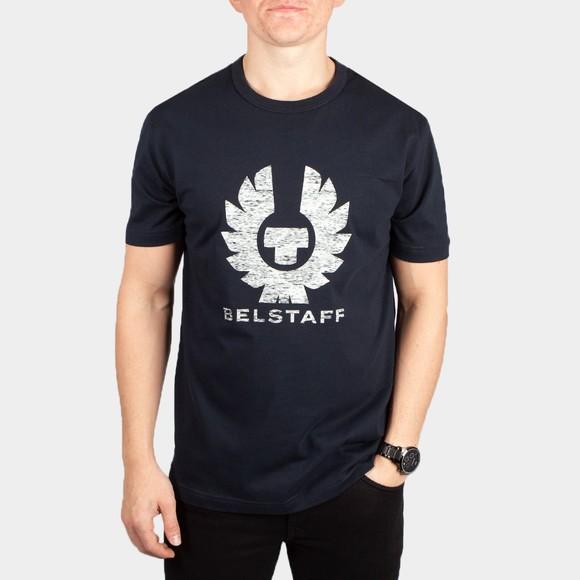 Belstaff Mens Blue Coteland 2.0 T Shirt