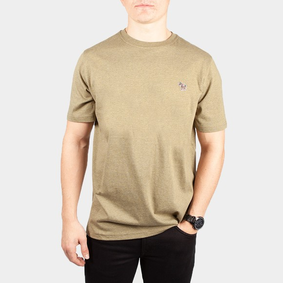 PS Paul Smith Mens Green Zebra T-Shirt