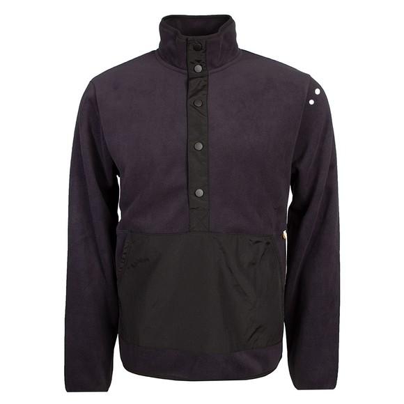 Farah Mens Blue Simpson Fleece Sweatshirt