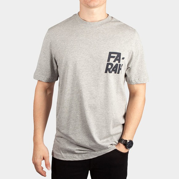 Farah Mens Grey Balcom T-Shirt