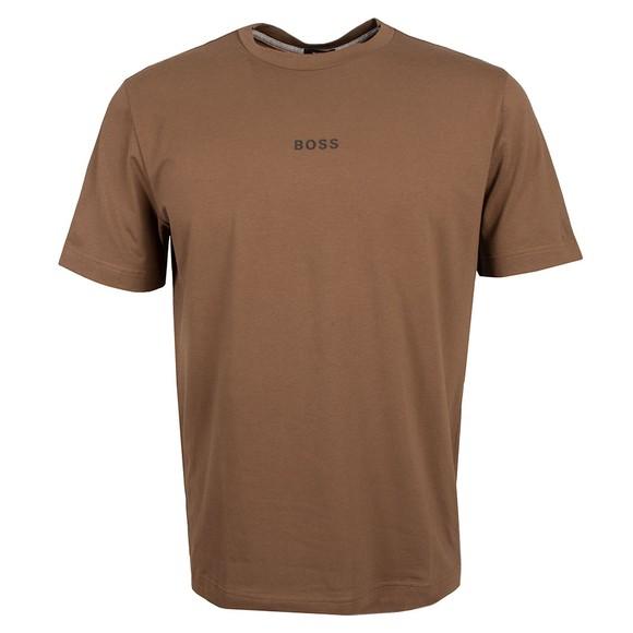 BOSS Mens Green Casual TChup 1 T-Shirt