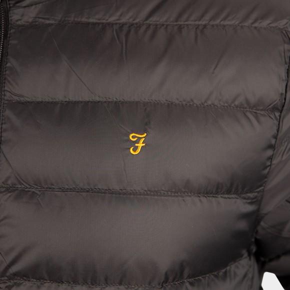 Farah Mens Black Strickland Wadded Coat main image