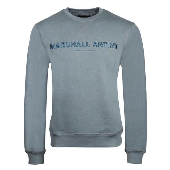 Marshall Artist Mens Blue Non Ath Crew Neck Sweatshirt