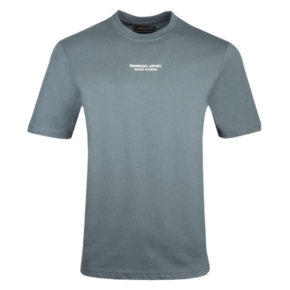 Marshall Artist Mens Blue Siren Injection T-Shirt