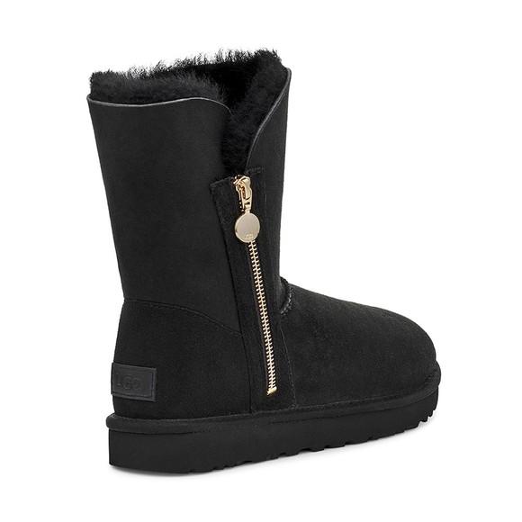Ugg Womens Black Bailey Zip Short Boot main image