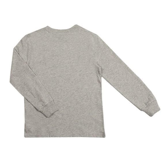 Polo Ralph Lauren Boys Grey LS Logo T-Shirt