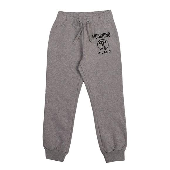 Moschino Boys Grey Milano Logo Jogger