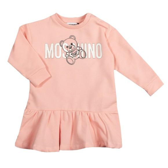 Moschino Girls Pink Sweatshirt Dress