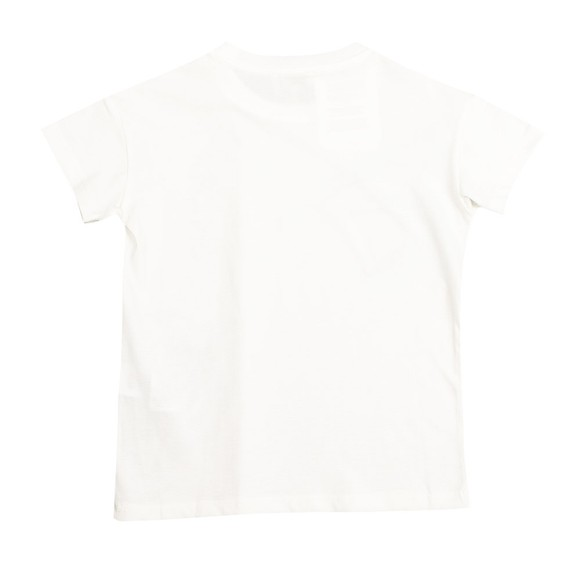 Kenzo Kids Boys White Cross Logo T Shirt