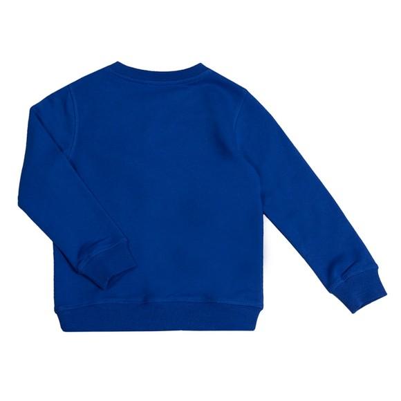 Kenzo Kids Boys Blue K25154 Cross Logo Sweatshirt