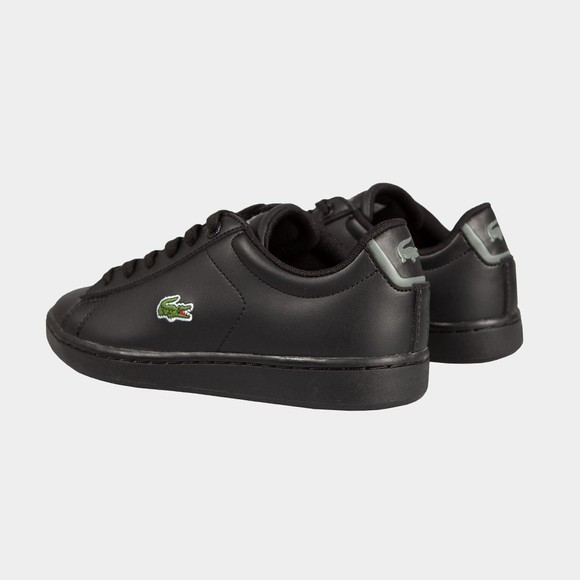 Lacoste Boys Black Boys Carnaby Evo Lace Trainer main image