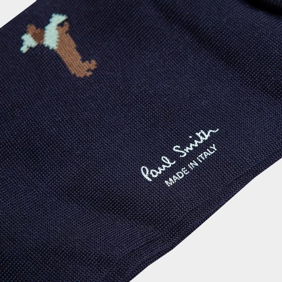 Paul Smith Mens Blue Tod Teckle Sock