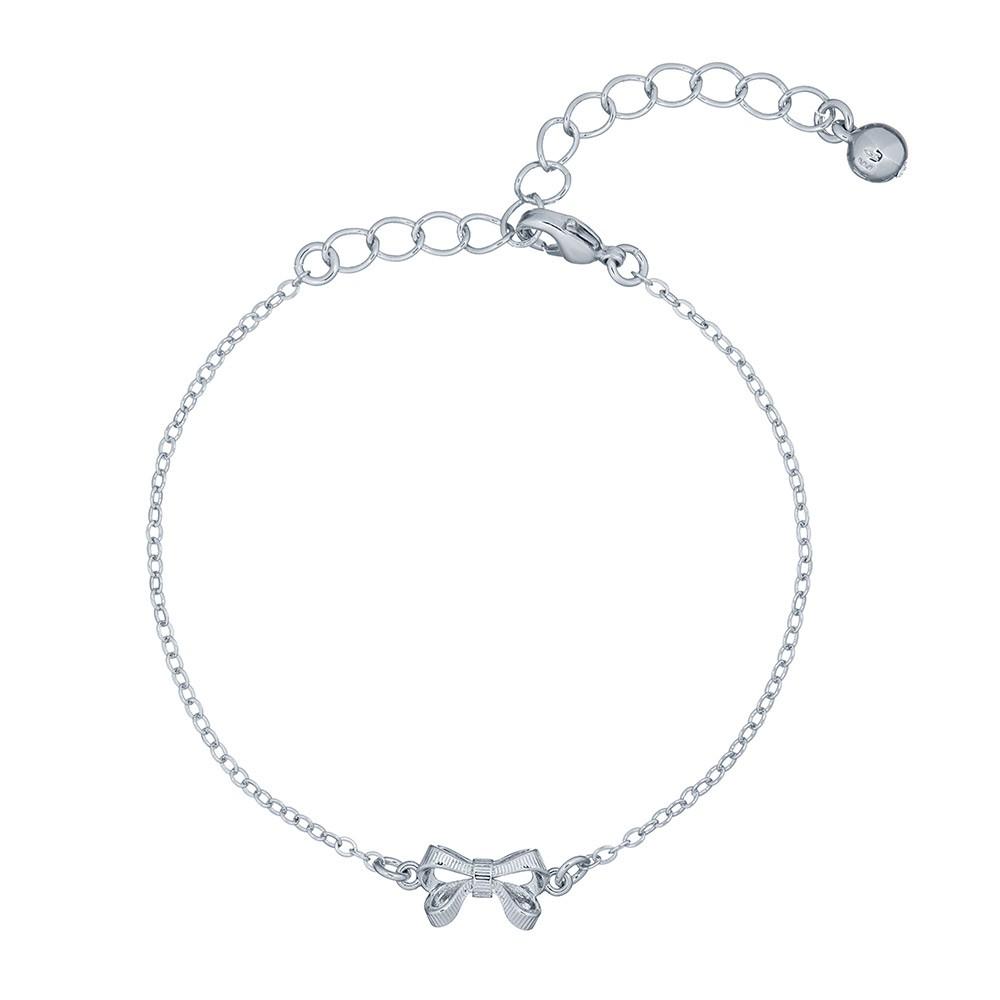 Carsaa Crystal Bow Drawstring Bracelet main image