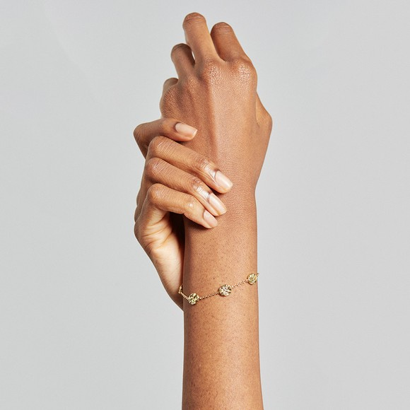 Ted Baker Womens Gold Mendre Moonrock Bracelet
