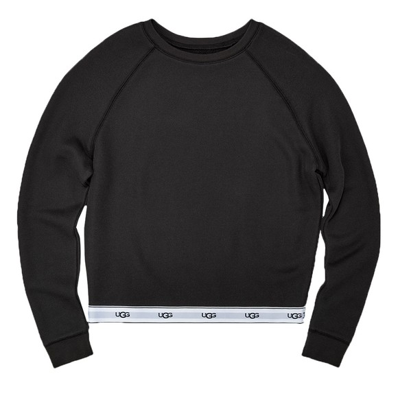 Ugg Womens Black Nena Sweatshirt