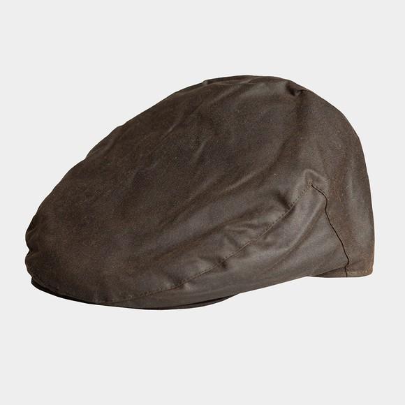 Barbour Countrywear Mens Green Wax Cap