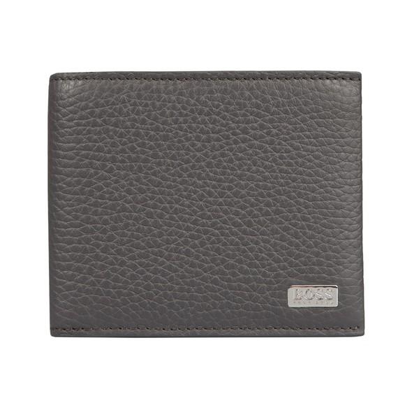 BOSS Mens Grey Crosstown 8 Wallet