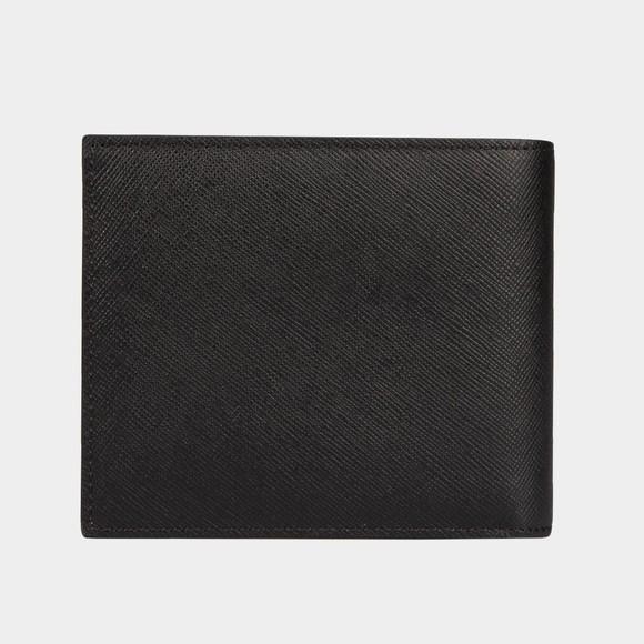 Paul Smith Mens Black Mini Covent Garden Billfold Wallet