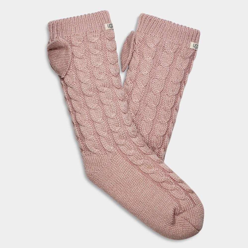 Laila Bow Fleece Lined Sock main image