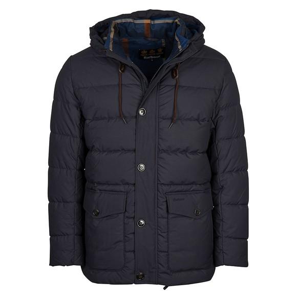 Barbour Lifestyle Mens Blue Mobury Quilt Jacket