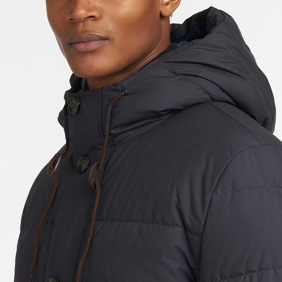 Barbour Lifestyle Mens Blue Mobury Quilt Jacket main image