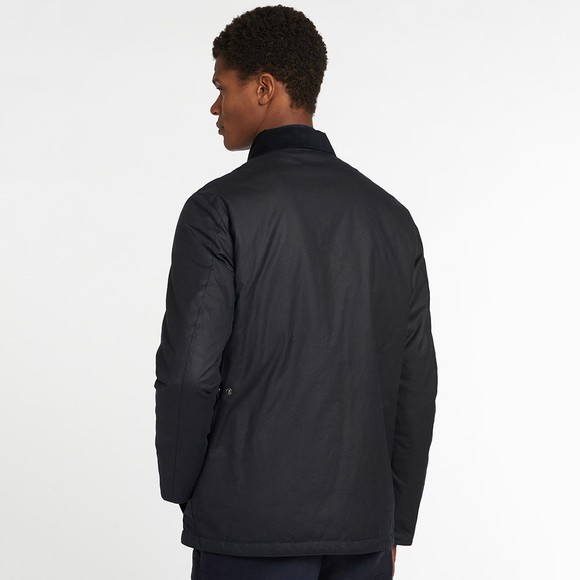 Barbour Lifestyle Mens Blue Fawden Wax Jacket main image