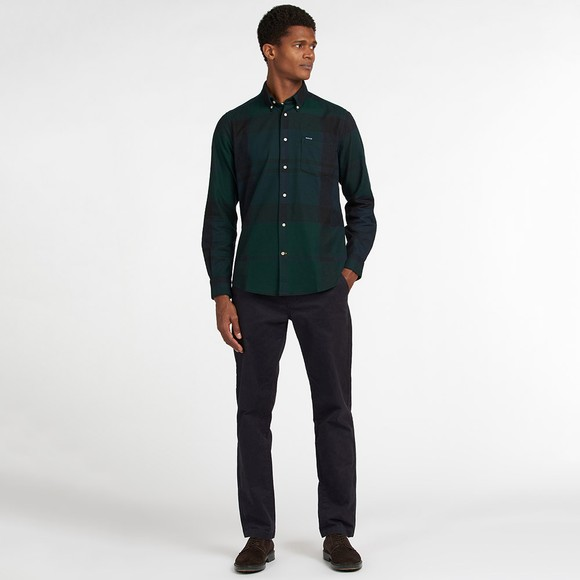 Barbour Lifestyle Mens Green Dunoon Shirt main image