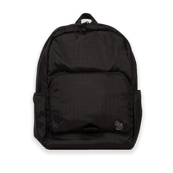 PS Paul Smith Mens Black Zebra Backpack