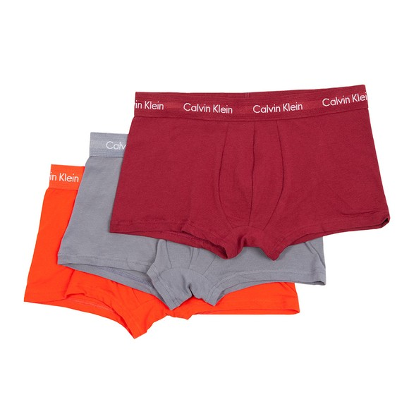 Calvin Klein Mens Multicoloured 3 Pack Low Rise Trunks