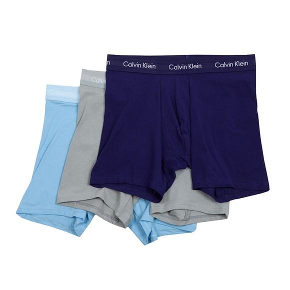 Calvin Klein Mens Multicoloured 3 Pack Trunks