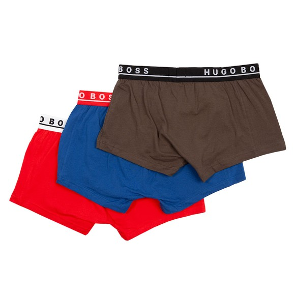 BOSS Bodywear Mens Blue 3 Pack Trunk