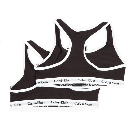 Calvin Klein Girls Black 2 Pack Bra
