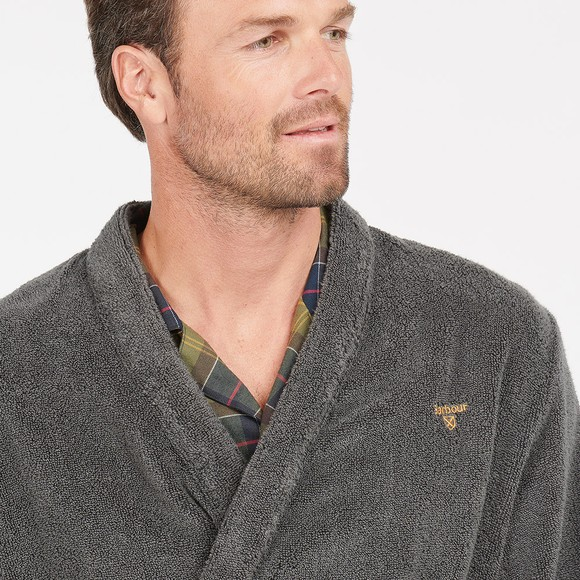 Barbour Lifestyle Mens Grey Lachlan Dressing Gown main image