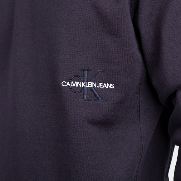 Calvin Klein Jeans Mens Blue Off Placed Iconic Sweatshirt main image