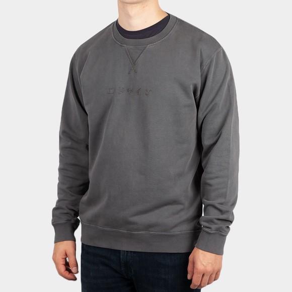 Edwin Mens Grey Katakana Heavy Sweatshirt main image