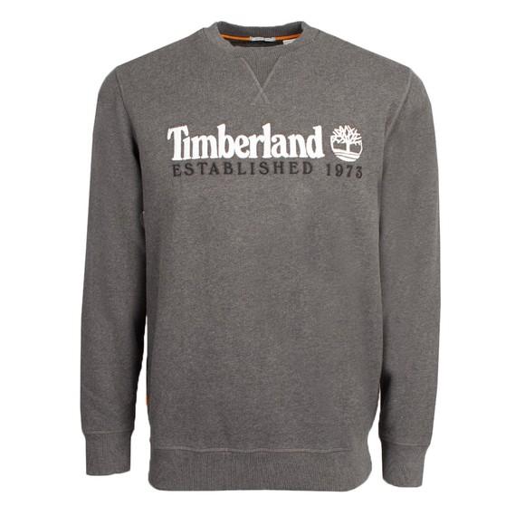 Timberland Mens Grey est. 1973 Sweatshirt main image