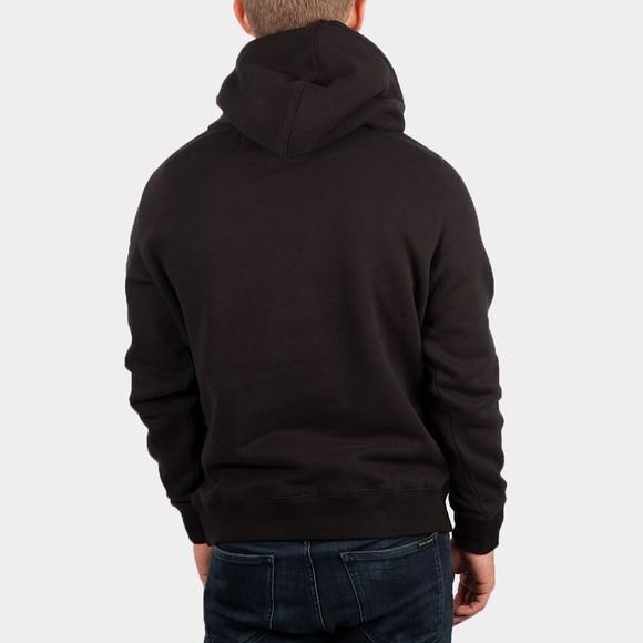 Calvin Klein Jeans Mens Black Colour Block Hoodie main image