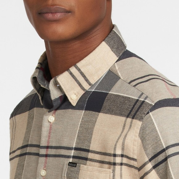 Barbour Lifestyle Mens Beige Edderton Tailored Shirt main image