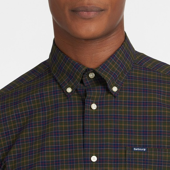 Barbour Lifestyle Mens Green Lomond Tailored Shirt main image
