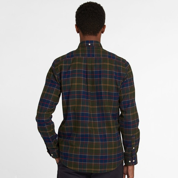 Barbour Lifestyle Mens Green Kyeloch Tailored Shirt main image