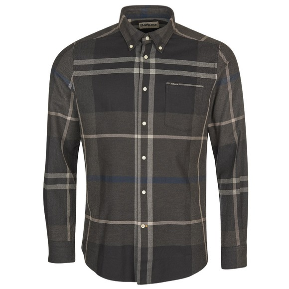 Barbour Lifestyle Mens Blue Dunoon Shirt
