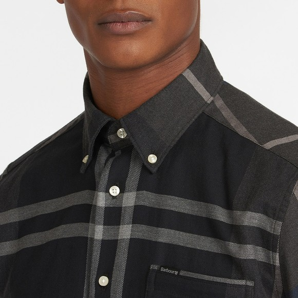 Barbour Lifestyle Mens Blue Dunoon Shirt main image