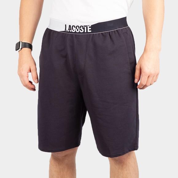 Lacoste Mens Blue Lounge Shorts