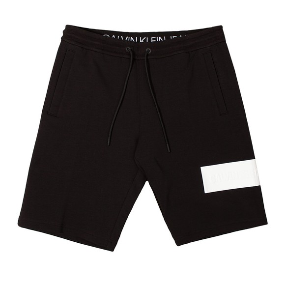 Calvin Klein Jeans Mens Black Blocking Logo Short