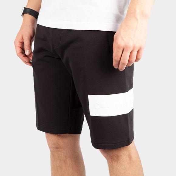 Calvin Klein Jeans Mens Black Blocking Logo Short main image